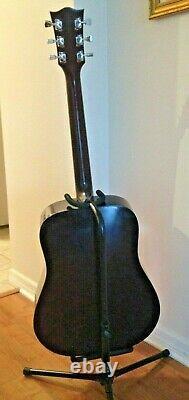 Rare Vintage Suzuki Three Est 1887 Gw-15 Guitare Acoustique. Fabriqué Au Japon