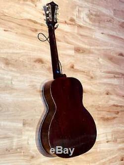 Recording King / Gibson Made Carson Robison Modèle K 1938 Sunburst Avec Étui
