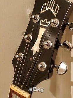 Réduit Guilde Bluesbird Goldtop Guitare Made In USA 2002