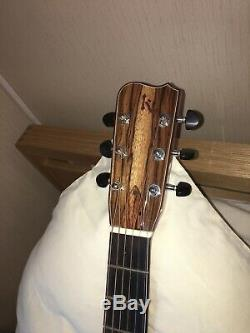 Réduit! USA Fabrication Artisanale Kinnaird Guitare Acoustique