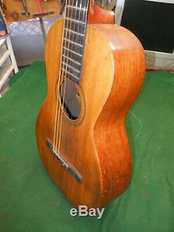 Regal 1890. Faites Arion Parlor Guitare