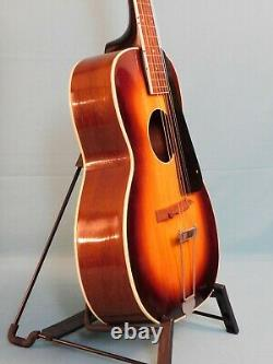 Regal Made Slingerland Maybell Round Hole Archtop Guitar Project Des Années 1930