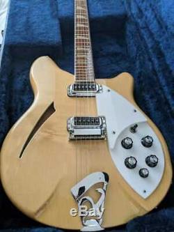 Rickenbacker 360 Mapleglo Rick / Guitare Semi-acoustique Avec Ohc Fait En 1993 États-unis