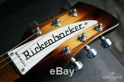 Rickenbacker Limitée Modèle 330 / Semi-acoustique Avec Hc Fait En 2014 États-unis