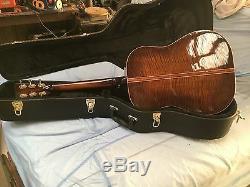 Robert Lawerence Personnalisé Guitare Acoustique Dreadnought Avec Hard Shell Case USA Fabriqué