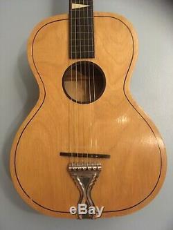 Salon Vintage Noname Guitare Acoustique 1950 Début Des Années 1960 (united Made) États-unis