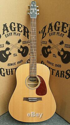 Seagull S6 Guitare Acoustique, Zager Easy Play Fait, Rare
