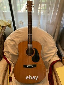 Sigma By Martin Dm-1 Made In Korea Dreadnought Acoustic Guitar 41 Full Excell