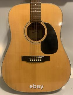 Sigma De Martin Dm-18 Guitare Acoustique Made In Japan Beautiful With Case