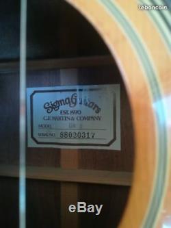 Sigma Guitares Guitare Acoustique Dr2 -cordes Made In Neuves- Métalliques Corée
