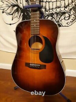 Sigma Martin Dm-3s Tabac Sunburst Guitare Acoustique Made In Korea Very Good Cond