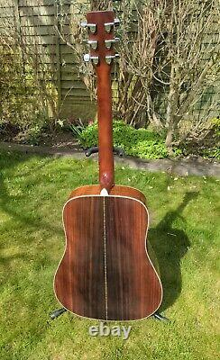 Sigma Martin Dr-28h 6 String Dreadnought Acoustic Guitar Made In Taiwan P&p Gratuit