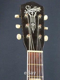 Silver Tone Des Années 1940 Fabriqué Par Kay Archtop Guitar