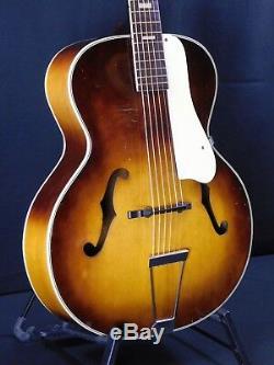 Silver Tone Des Années 1950 Fabriqué Par Harmony Archtop Guitar