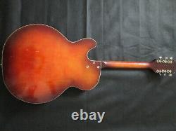 Silvertone 1454 Guitare Semi Acoustique 1960's Made In USA