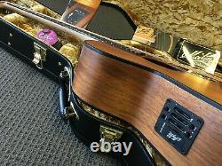 Solid Wood Australian Made Electric Acoustic Guitar Maton Ebw808