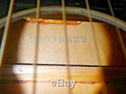 Stella H929 Faite Par Harmony Guitare Acoustique (occasion) -comme-indiqué. Nouvelles Clés / Cordes