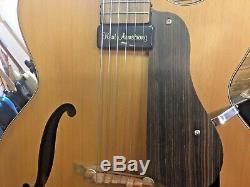 Stonebridge Jazz Guitare Electro-acoustique Hand Made Rare Furch