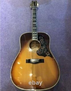 Super Rare Yamaha Fg-500s Sunburst Guitare Acoustique Made In Japan