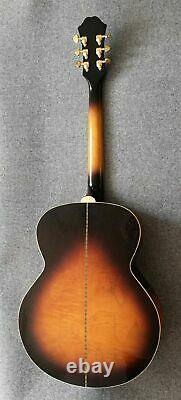 Superbe Epiphone Ej200 Vs Guitare Acoustique Fabriquée En Corée Peerless Bâti J200