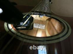 Takamine Ef261s Une Guitare Électroacoustique Faite Au Japon 2001- Haut De Cèdre Solide