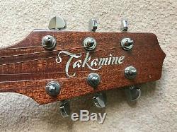Takamine Ef440 Sc Gn Guitare Électro-acoustique, Plus Étui Rigide Fabriqué Au Japon