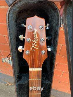 Takamine Electro Acoustic Guitar Made In Japan 1998 Ex Showaddywaddy