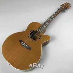 Takamine Esf-93 Guitare Acoustique Fabriqué Au Japon Rare Used Ex ++