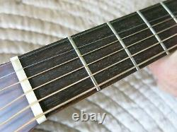 Takamine F-307s Solid Top Acoustic Guitar Made In Japan Rare - Simply Stunning