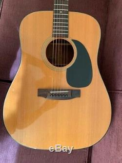 Takamine G330 Electro Acoustic Guitar Vintage 1988 Made In Japan Martin Lawsuit