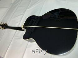 Takamine Ltd Limitée 2017 Magome Noir Guitare Acoustique Made In Japan Tube Preamp