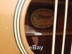 Takamine N-10 Fini Naturel Guitare Acoustique Made In Japan Hard Case