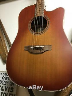 Takamine P3dc Sas Made In Japan / Westerngitarre Inkl. Koffer / Tonabnehmer