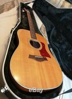 Taylor 210e Guitare Électro Acoustique Et Hardcase Fabriqué Aux Etats-unis (californie)