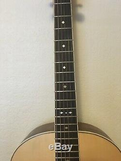 Tlh Cocobolo L2 Guitare Acoustique Luthier Fait