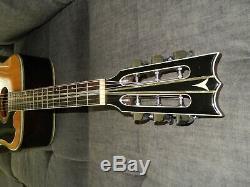 Très Rare, Fabriqué En 1979 Par Kazuo Yairi Yw600g: Une Vraie Guitare Acoustique