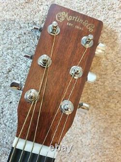 USA Made Martin Dcx1e Dreadnought Guitar Mint Condition Bear Griff Solide Spruce