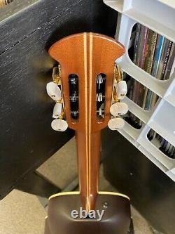 USA Made Ovation 1713 Classic Acoustic Guitar Withhsc Near Mint. Nylon Classique