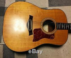 USA Made Taylor 110e E-akustik Dreadnought Guitare Mit Es1 Micros