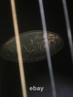 USA Made Vintage Ovation Balladeer Guitare 1621-1 Electro Acoustic Guitar Années 1970