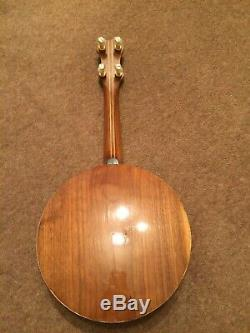 Ukulélé Banjo Banjolele Wendell Style Hall Fabriqué Par Phil Cartwright En 1992 Rare