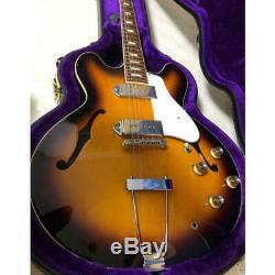 Utilisé! Epiphone Elitist 1965 Guitare Semi-acoustique De Casino Vs Fabriqué Au Japon Avechc