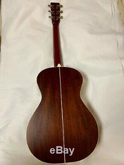 Utilisé! K. Yairi Fk-6r Guitare Acoustique Logo Alvarez Fabriqué Au Japon En 1999 Avec Étui Rigide