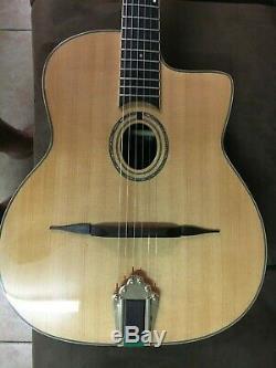 Vente! Gypsy Jazz Guitar Fait Main En Palissandre Massif B & S, Épicéa