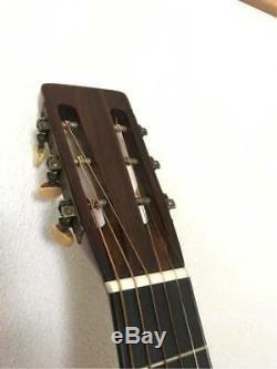 Vintage 1921 F. C. Martin 0-21 Guitare Hacaranda Fait Avec Le Cas Dur Super Rare
