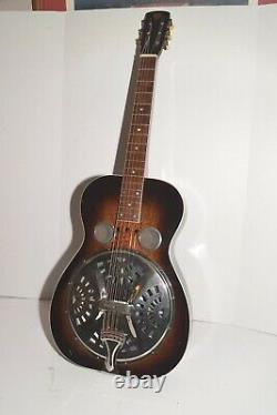 Vintage 1934-1936 Résonateur Dobro Guitare Restaurée Fabriqué En Californie
