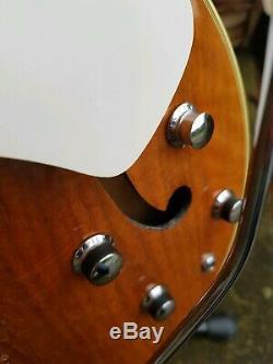 Vintage 1960 Hopf Allround Archtop Guitare Semi-acoustique Fabriqué En Allemagne Hofner