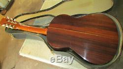 Vintage 1970 De C. G. Conn C200 6 Cordes Classique Guitare Acoustique Fabriquée Au Japon