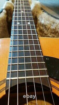 Vintage 1970 Framus Nashville 74l Acoustic Guitar Made In Germany Érable