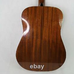 Vintage 1970s Martin Sigma Dm-3y Guitare Acoustique Fabriqué En Corée Bon- Forme Vg
